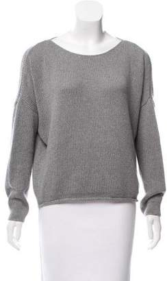 Enza Costa Cashmere-Blend Oversize Sweater