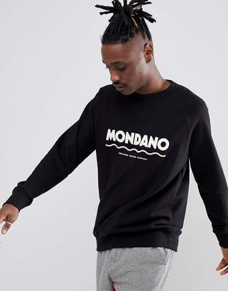 Wood Wood Mondano Sweatshirt With Large Logo