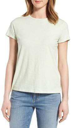 Petite Women's Eileen Fisher Organic Cotton Tee $68 thestylecure.com