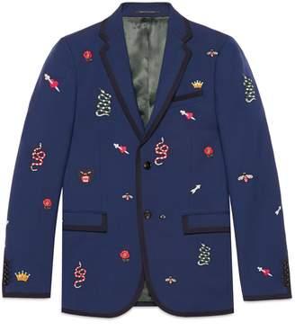 Gucci Embroidered Monaco jacket