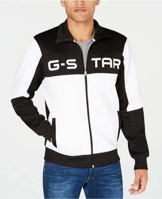 G Star Men's Rodis Colorblocked Logo Track Jacket