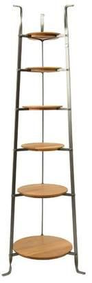 Enclume Handcrafted Tier Gourmet Cookware Standing Pot Rack with Alder Shelves Tier Quantity: 6 Tiers