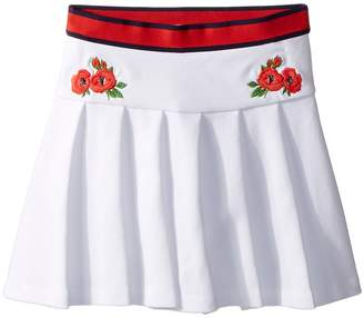Janie and Jack Embroidered Pleated Skirt Girl's Skirt