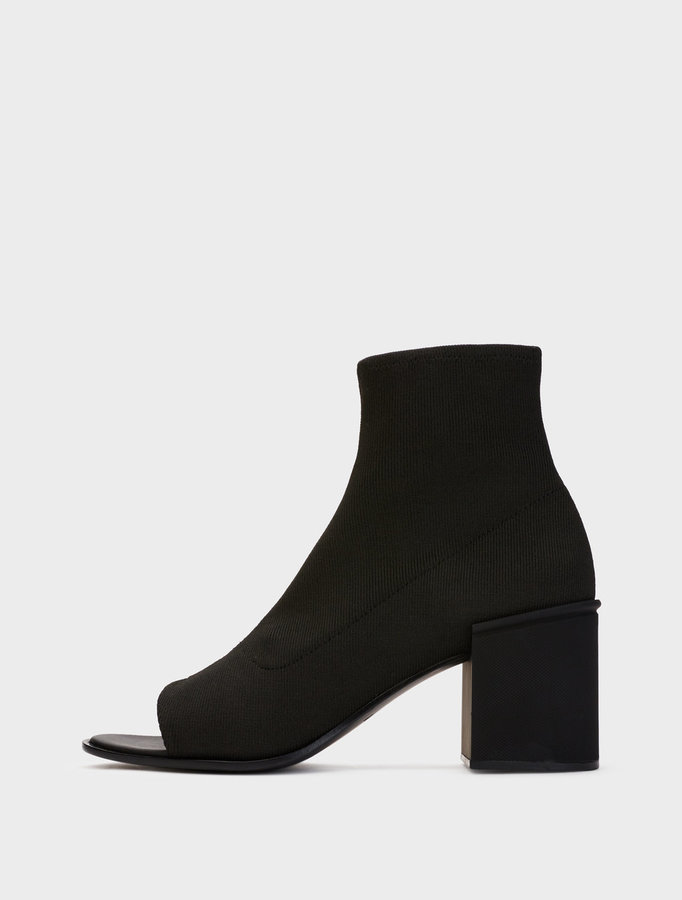 Evie Open Toe Ankle Boot