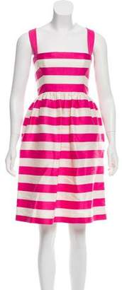 DSQUARED2 Striped Knee-Length Dress