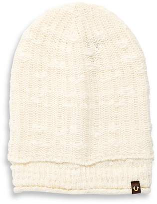 True Religion Men's Ribbed Cuff Hat