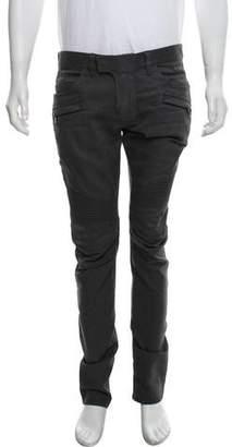 Balmain Moto Skinny Jeans