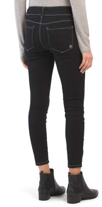 Indigo Rein Juniors Contrast Stitch Denim Jeans