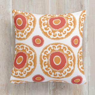 Bright Suzani Square Pillow