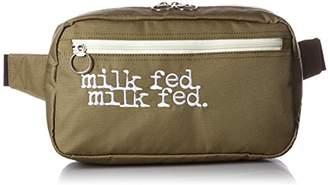 Milkfed. (ミルクフェド) - [ミルクフェド] MILKFED. FANNY PACK DOUBLE MILKFED 03162021 21 (BEIGE)