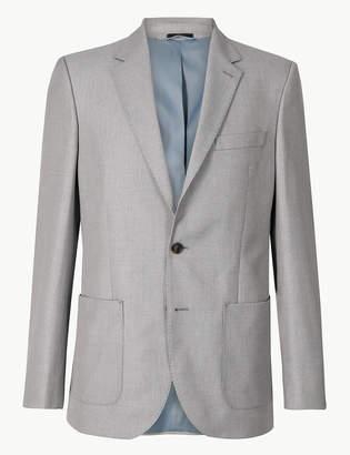 Marks and Spencer Textured Regular fit Jacket