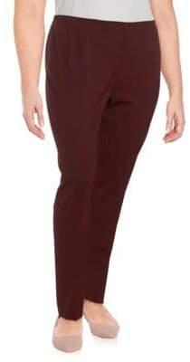 Lafayette 148 New York Front Zip Full Length Pants