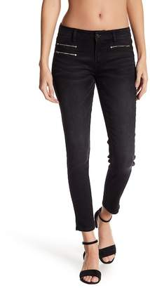 Vigoss Zipper Detailed Skinny Leg Jeans