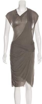 Helmut Lang Casual Midi Dress