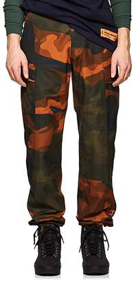 Heron Preston Men's Camouflage Cotton Cargo Pants