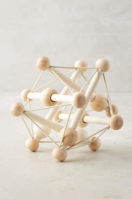 Anthropologie Wooden Skwish Toy