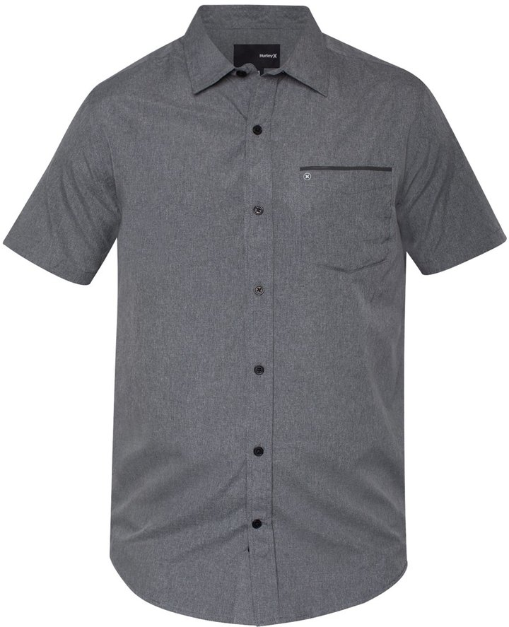 Hurley Men's DriFit One & Only Woven S/S Shirt - 8146194