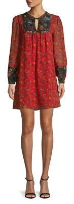Kensie Floral Printed Smock Dress