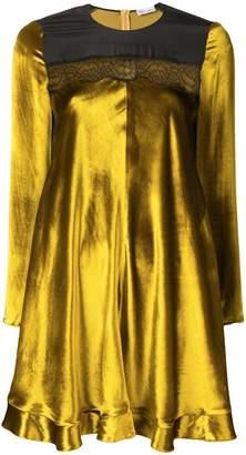 RED Valentino flared velvet dress