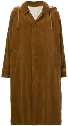 08sircus hooded corduroy coat