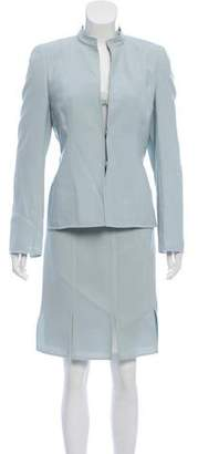 Akris Wool Skirt Suit