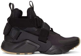 Nike Black Air Huarache City Sneakers