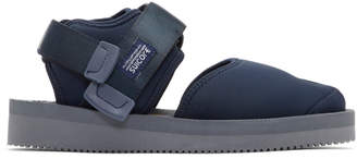 Suicoke Navy Bita-V Sandals
