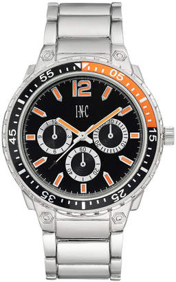 INC International Concepts I.n.c. Men's Silver-Tone Bracelet Watch 45.5mm, Created for Macy's
