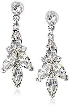 Swarovski Ben-Amun Jewelry Crystal Drop Earrings for Bridal Wedding Anniversary
