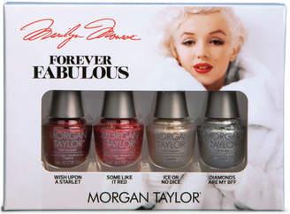 Morgan Taylor Online Only Forever Fabulous Marilyn Monroe Glam Mini 4 Pack