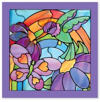 Melissa & Doug Stained Glass Made Easy- Rainbow Garden