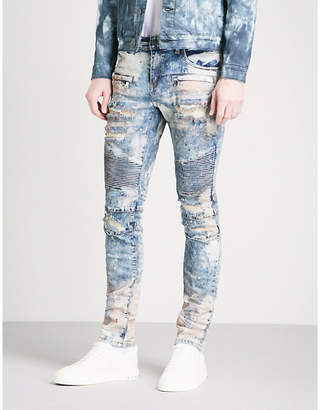 Embellish Schultz slim-fit skinny stretch-denim jeans