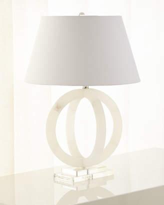 Jamie Young Circular Alabaster Lamp