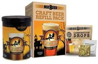 Mr. Beer MR. BEER® Bewitched Amber Ale Craft Beer Making Refill Kit