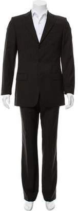 HUGO BOSS Wool Pinstripe Suit