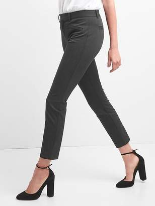 Gap Skinny Ankle Pants in Heathered Twill