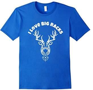 I Love Big Racks T shirt -Deer Hunting t shirts
