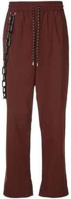 Puma Maison Yasuhiro wide-leg trousers