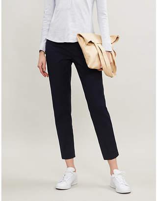 The White Company Capri oxford-fit stretch-cotton trousers