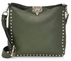 Valentino Rockstud Utilitarian Hobo Bag
