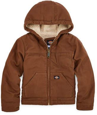 Dickies Sherpa-Lined Duck Hooded Jacket - Preschool Boys 4-7