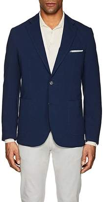 Piattelli MEN'S COTTON JERSEY TWO-BUTTON SPORTCOAT