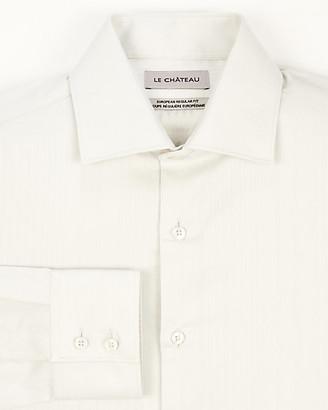 Le Château Tonal Stripe European Fit Shirt