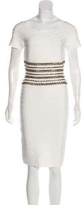 Herve Leger Carmen Bandage Dress