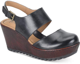 b.o.c Helena Wedge Sandals Women's Shoes $90 thestylecure.com