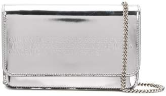 Calvin Klein metallic crossbody bag