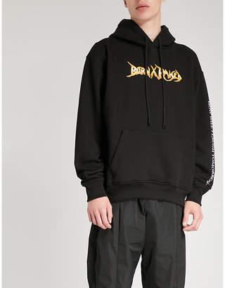 Born X Raised Stoney cotton-jersey hoody
