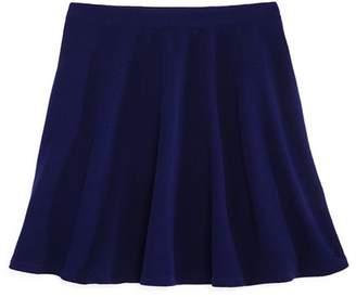 Aqua Girls' Textured Swing Skirt, Big Kid - 100% Exclusive
