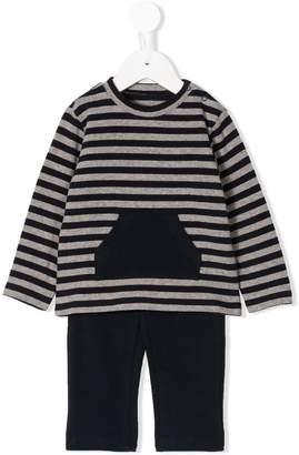 Il Gufo striped sweat suit