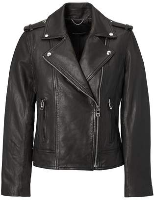 Banana Republic Classic Leather Moto Jacket